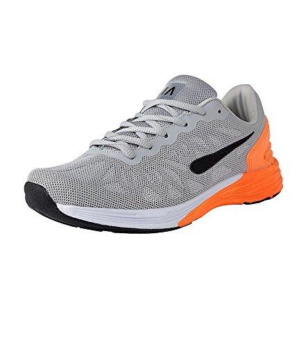 Vir Sport Air Men's Grey Running Shoes (Size : 9.5 )