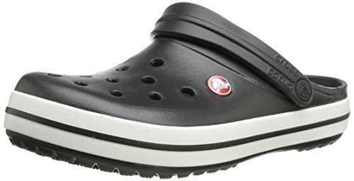Crocs Unisex Black Slip-On Clog – M8W10