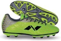 Nivia Ditmar-1 Football Shoes(Green, Silver)
