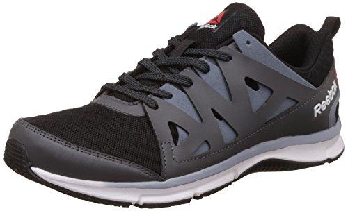 Reebok Men's Rbk Run Supreme 3.0 Mt Blk, Coal, Astroid Dust and Wht Running Shoes -8 UK/India (42 EU) (9 US)