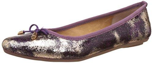 Bata Women's Sansa Purple Ballet Flats – 5 UK/India (38 EU)(5519310)