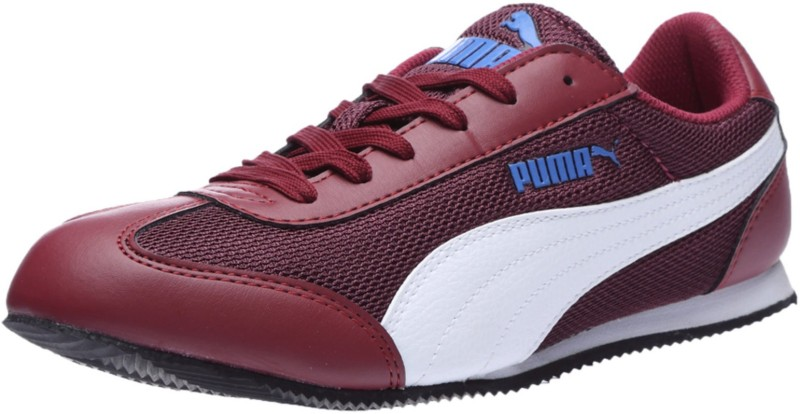 Puma 76 Runner wns IDP Casual Shoes(Red, Blue)