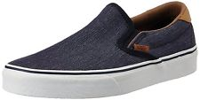 Vans Unisex Denim C&L and Navy Loafers and Mocassins – [8 UK (42 EU)