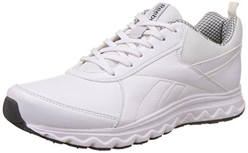 Reebok Men's School Sports White Running Shoes – 6 UK/India (39 EU)(7 US)
