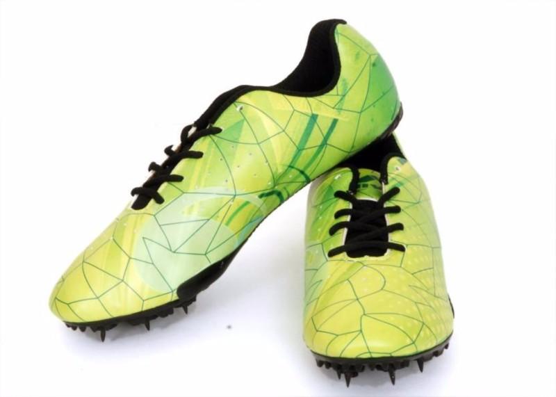 """Nivia Spikes – """"SPIRIT"""" Running Shoes(Green)"""