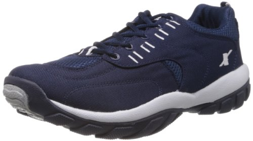 Sparx Men's Navy Blue and White Running Shoes – 9 UK/India(SM-113)