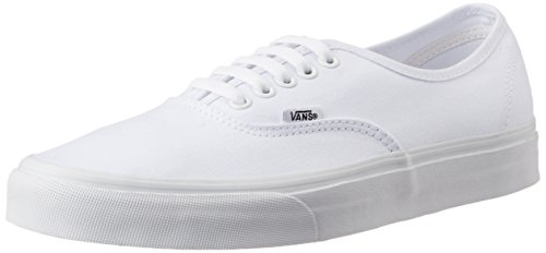 Vans Unisex Authentic True White Sneakers – 3 UK/India (35 EU)