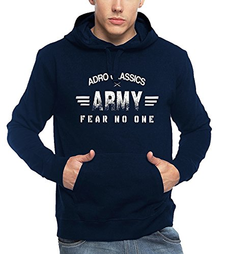 Adro Men's Cotton Hoodies Harm_Navy Blue_XXL