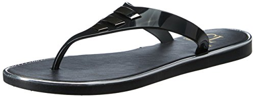 CL by Carlton London Women's Prunella Black Fashion Sandals – 6 UK/India (39 EU)