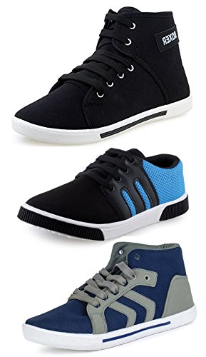 Tempo Men's Combo Pack of 3 Sneakers Shoes-10