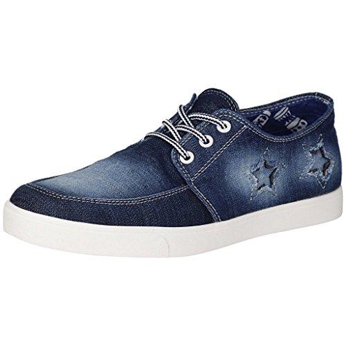 Blinder Men's Denim Jeans Navy Blue Casual Shoes