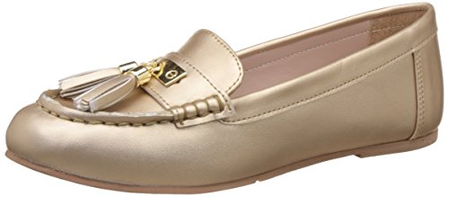 miss cl womens nogel gold loafers and moccasins 5 ukindia 38 eu -