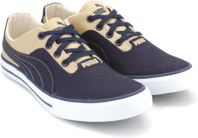 Puma Nestor Plus DP Closed Shoes(Khaki, Navy)