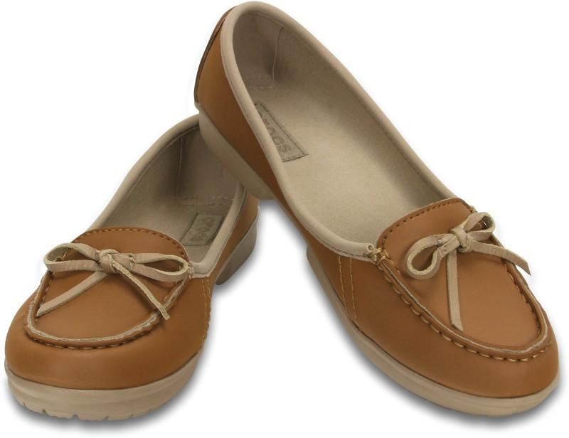 Crocs Women Hazelnut/Tumbleweed Flats