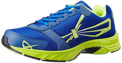 Sparx Men's Royal Blue and Flourscent Green Running Shoes – 9 UK (SX0236G)