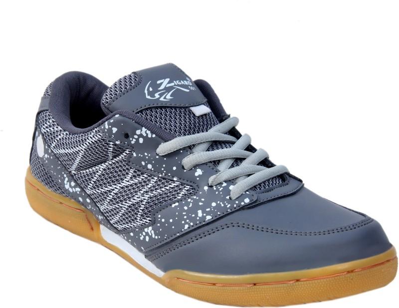 zigaro z501 grey non marking badminton shoe badminton shoesgrey -
