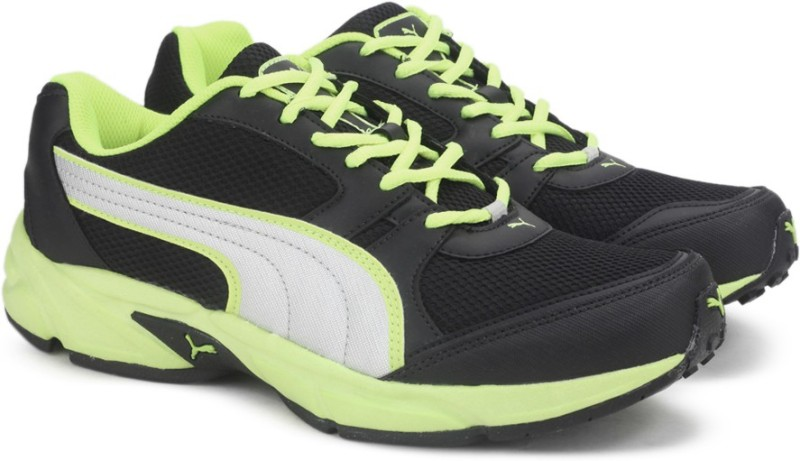 puma strike fashion ii dp running shoesblack -