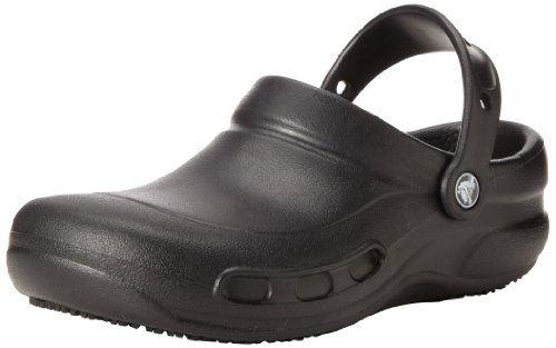 crocs mens bistro black rubber clogs and mules m9w11 -