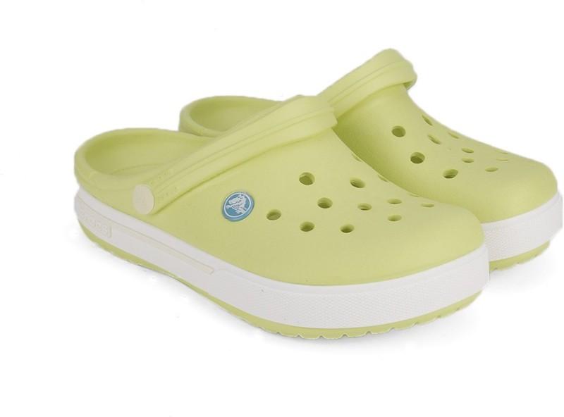 crocs boys girls slip on clogsyellow -