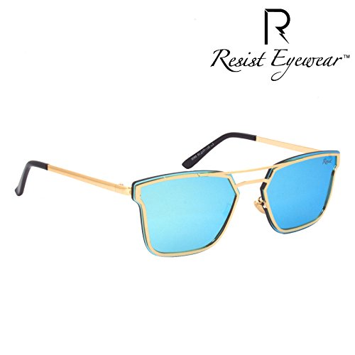 resist re furious 02 unisex uv protection gold metal full frame fashion -