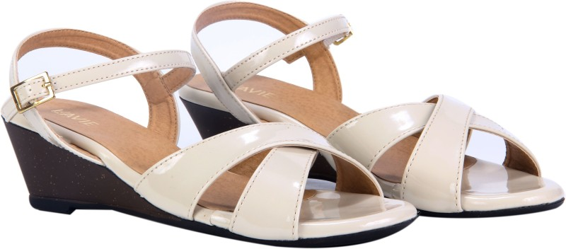 Lavie Women Cream Wedges