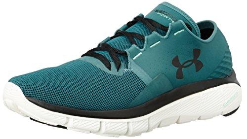 Under Armour Men's UA Speedform Fortis 2.1 Marlin Blue, Ivory and Black Running Shoes – 11 UK/India (46 EU)