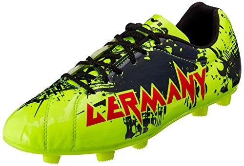 Nivia Destroyer Germany Football Shoes, UK 9 (Lemon Yellow)