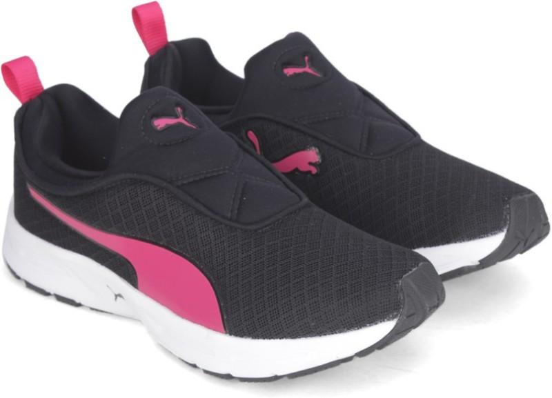 Puma Burst Slip on NM Wmns Running Shoes(Black)