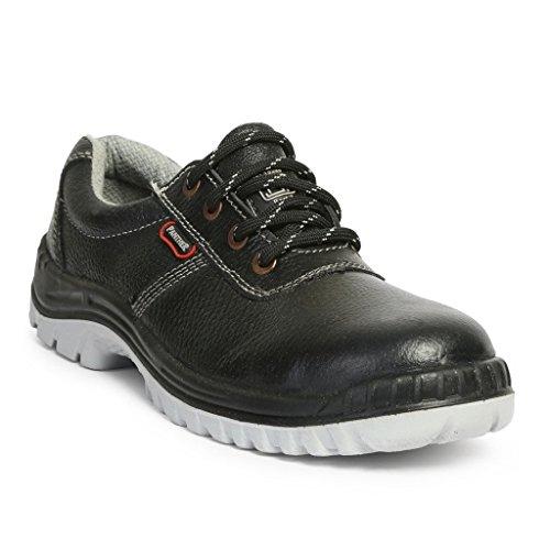 Hillson TC007025081_Size 8 Panther ISI Marked Safety Shoes, Black, Size 8 UK