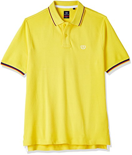Van Heusen Sport Men's T-Shirt (8907566217038_VSKP516S06493_XX-Large_Yellow)