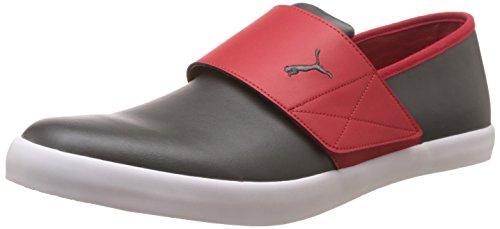 Puma Men's El Rey Milano II DP Dark Shadow, High Risk Red and Steel Grey Sneakers – 10 UK/India (44.5 EU)