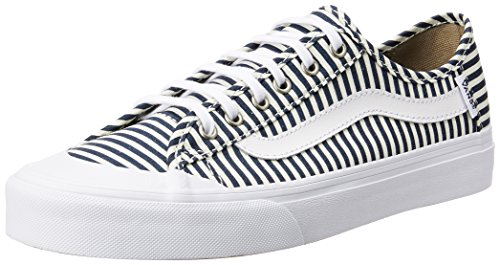 Vans Women's Black Ball Sf Navy and Stripes Sneakers – 3.5 UK/India (36 EU)