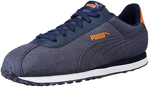 Puma Unisex's Puma Turin Denim Peacoat Formal Shoes – 11 UK/India (46 EU) (36169201)
