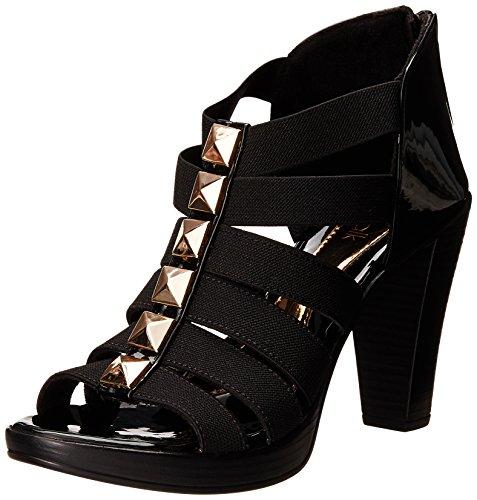 Catwalk Women's Black Fashion Sandals – 8 UK