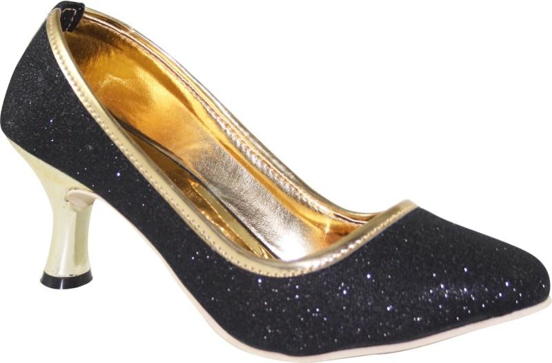 Cute Fashion Women Black Heels