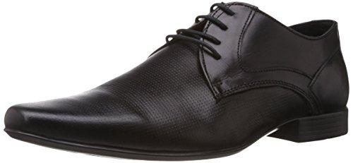 Franco Leone Men's Black Leather Formal Shoes – 8 UK/India (42 EU)
