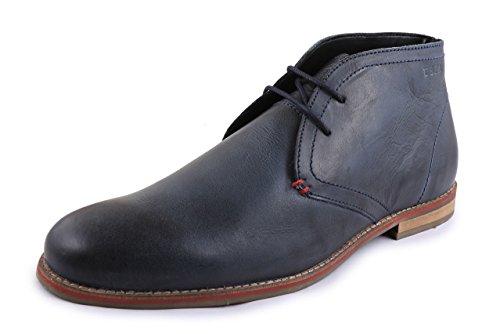 U.S Polo Assn. Men's Blue Leather Formal Shoes – 10 UK