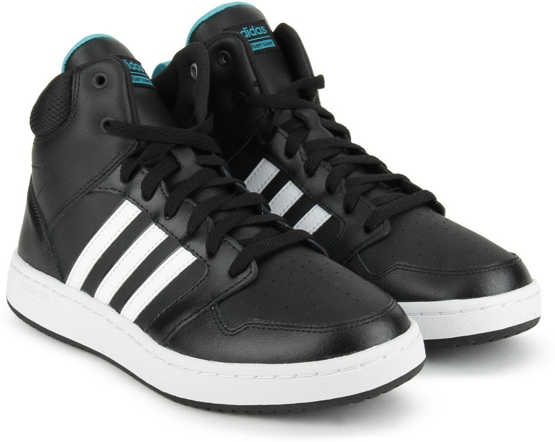 Adidas Neo CF SUPERHOOPS MID W Basketball Shoes(Black)