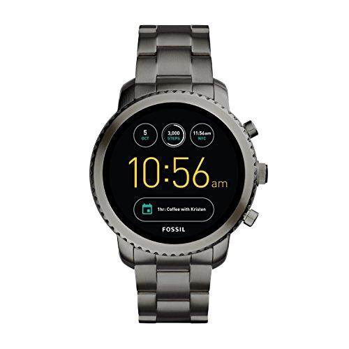 Fossil Q Exploris Analog-Digital Black Dial Men's Watch-FTW4001