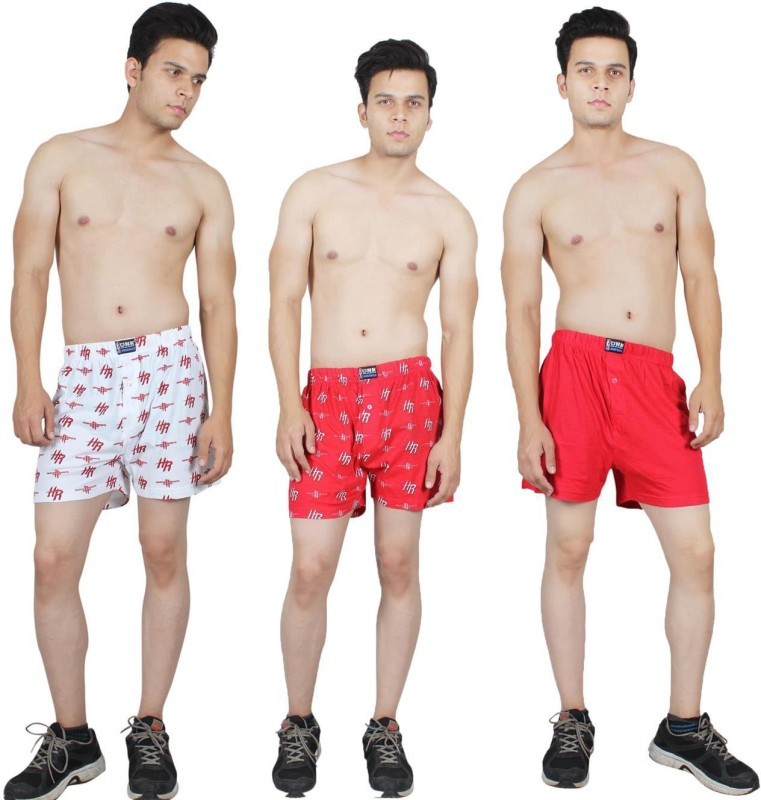 Kotty Graphic Print Men's Boxer(Pack of 3)