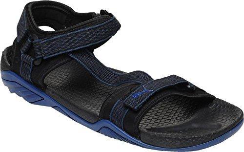 Puma Men's Aqua Idp Black and True Blue Athletic & Outdoor Sandals – 11 UK/India (46 EU)