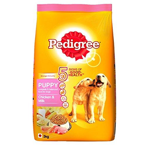 pedigree puppy dog food chicken milk 3 kg pack -