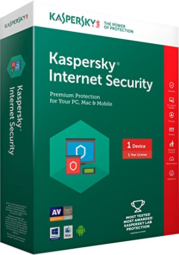 Kaspersky Internet Security – 1 PC, 1 Year (CD) (Chance to win Rs.1000 gift voucher)