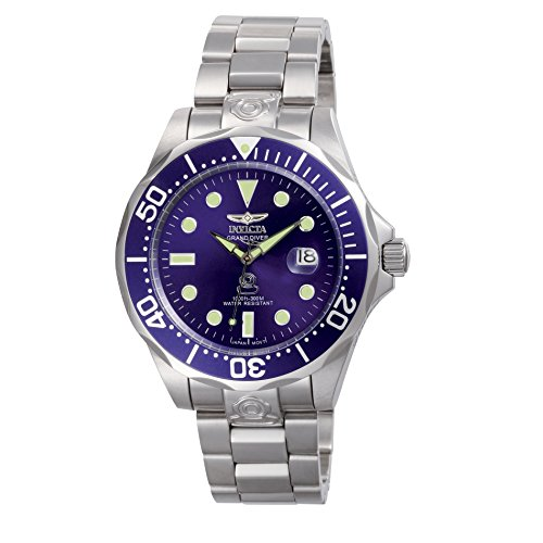 Invicta Pro-Diver Analog Blue Dial Men's Watch – 3045