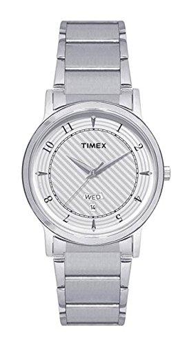 Timex Analog White Dial Men's Watch-TW00ZR185