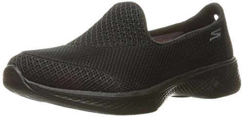 Skechers Performance Women's Go Walk 4 Propel Walking Shoe, Black, 5 M US