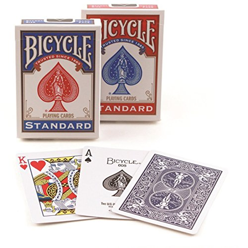 Bicycle Standard Index Playing Cards Deck – 2 Decks!