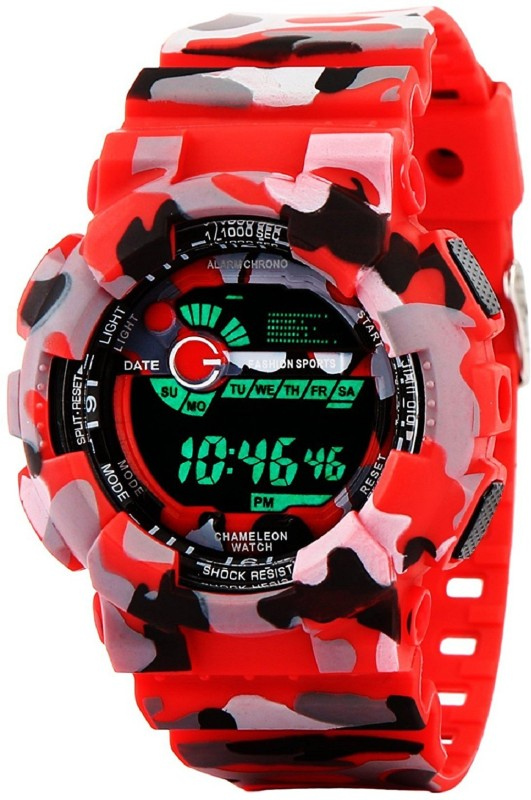 Neems Army Digital Sports Fashion Red Color Watch For Boys And Men's New series in sports watches. Watch  – For Men & Women