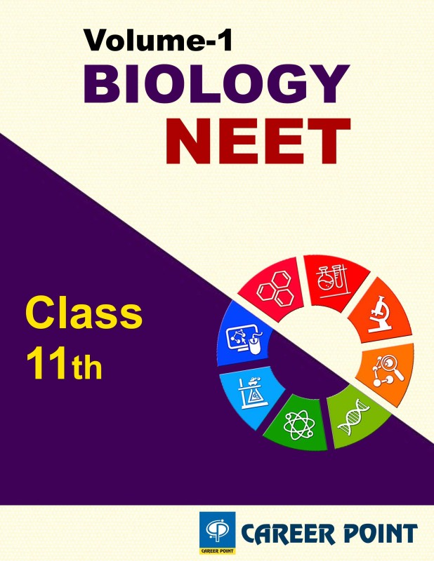 Biology For NEET (Vol-1) By Career Point (Class 11th)(Paperback, Career Point Kota)