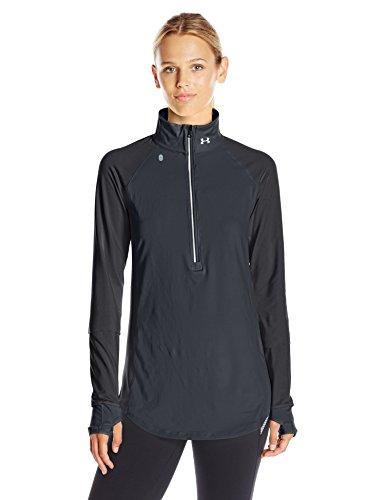 under armour threadborne run true 12 zip womens sweatshirt -